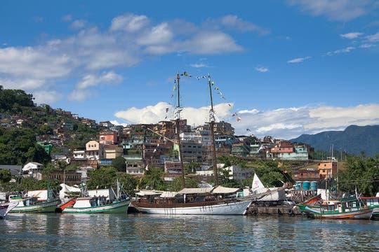 El puerto de Angra dos Reis. Foto: Martín Mangudo - Banco de Imágenes Embajada del Brasil en Buenos Aires