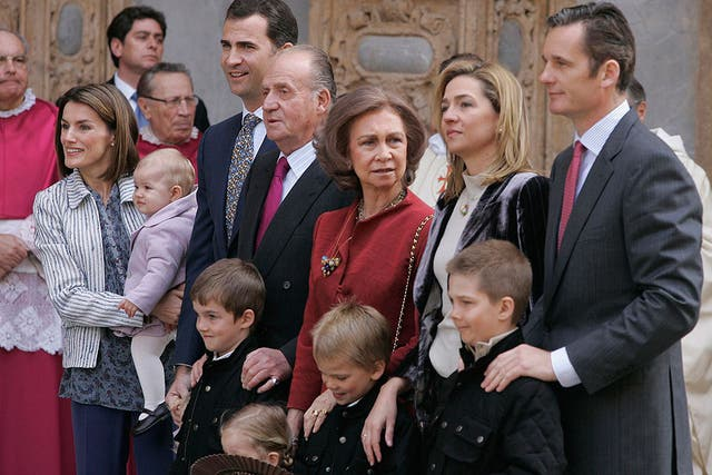 La Casa Real española ha intentado reducir el impacto que ha producido el escándalo en su imagen