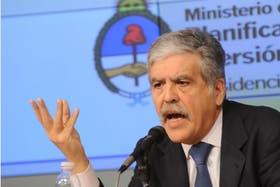 Julio De Vido, ministro de Planificación Federal