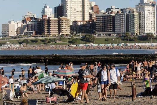 Mar del Plata, elegida comoel mejor destino de playa de América del Sur. Foto: Archivo / LA NACION