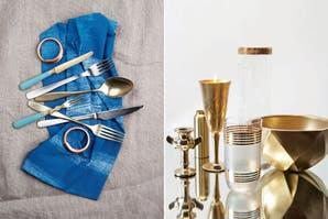 33 propuestas en azul y metal