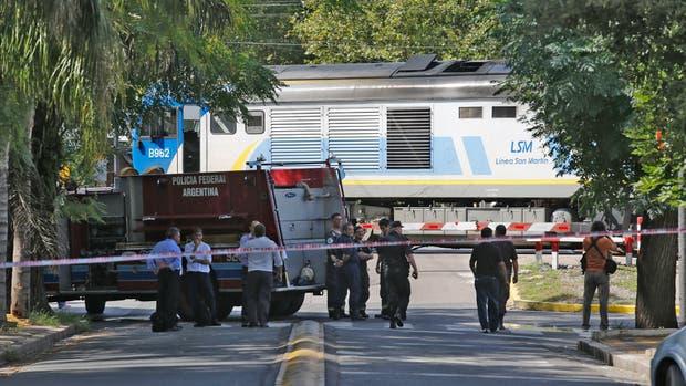 El accidente ocurrió en el tren San Martín en la barrera de Benito Juárez