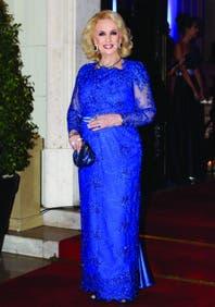 Mirtha Legrand, como Isabel II de Inglaterra: la reina de la televisión convirtió los colores en su sello más personal