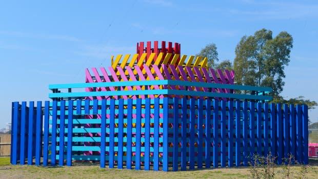 l Parque de los Laberintos fue inaguruado hoy en Tecnópolis