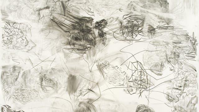 Sin título, de Eduardo Stupía. Técnica mixta sobre papel (de la galería Jorge Mara), que se exhibe en sección ARCO