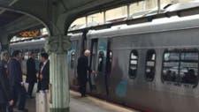 Joe Biden, en su primer día como ex vicepresidente,  volvió a su casa en tren