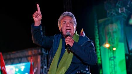 El presidente de Ecuador, Lenin Moreno