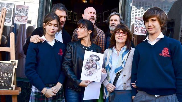 Mariela Fumaarola hija de Julio César Fumarola, desaparecido en el ´74 y familia