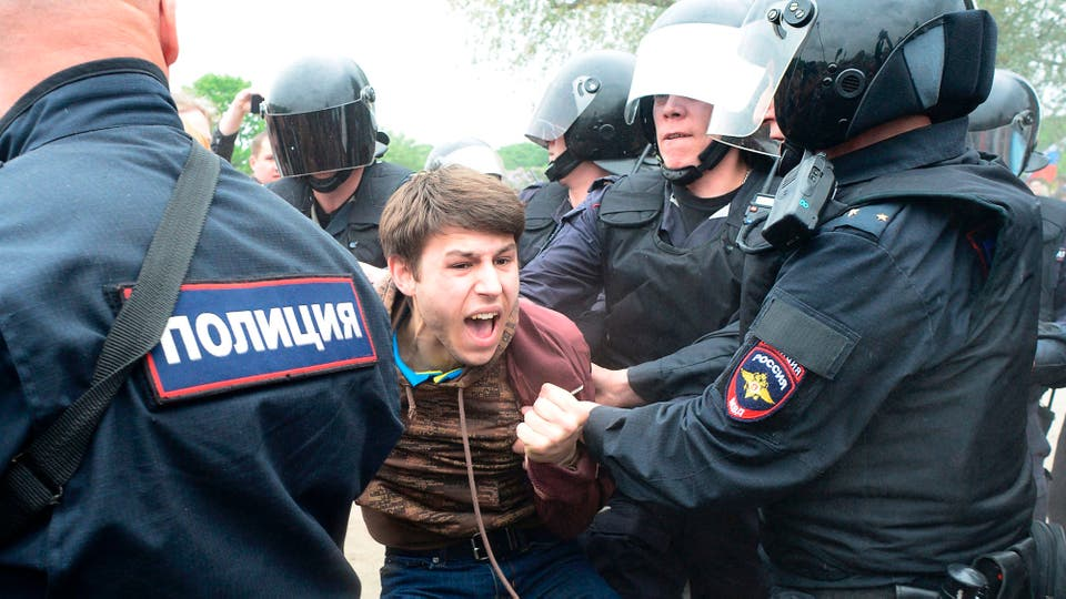 El gobierno, que a su vez vio con preocupación la gran cantidad de jóvenes que formaron parte de las protestas. Foto: AFP