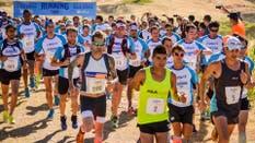 Atletas concentrados en la largada de Running Trip