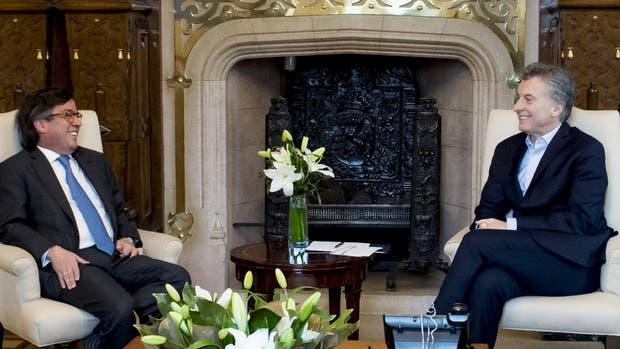 Mauricio Macri recibió ayer a Luis Moreno, del Banco Interamericano de Desarrollo