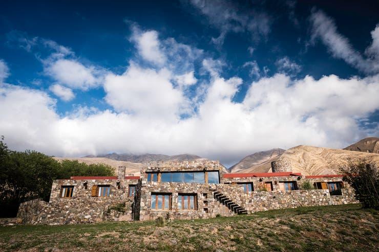 La piedra predomina en la fachada de Casa Colorada, en Tilcara. Autor: Federico Quintana