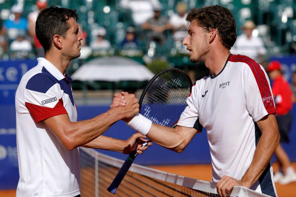 Bagnis, Berlocq y Cachín se despidieron del Argentina Open