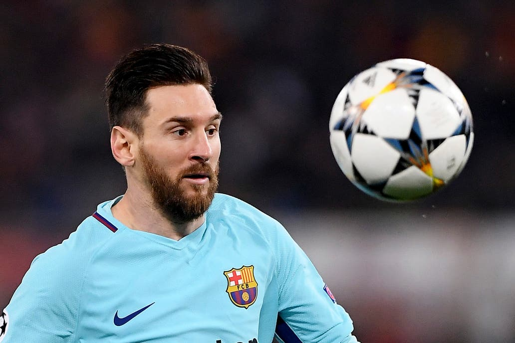 Fuerte cruce entre Messi y Valverde