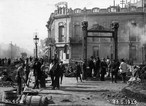 Es la línea en actividad más antigua del mundo  en funcionamiento comercial. Foto: Archivo