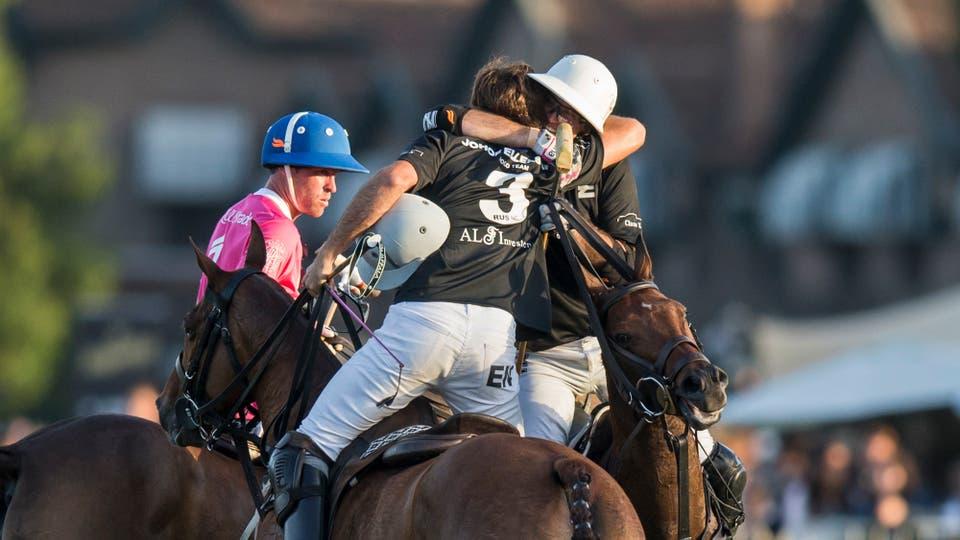 Ellerstina se coronó en el Abierto de Hurlingham de polo frente a Alegría. Foto: LA NACION / Sergio Llamera