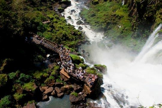 Cataratas del Iguazú. Misiones. Foto cortesía de Revista Lugares.