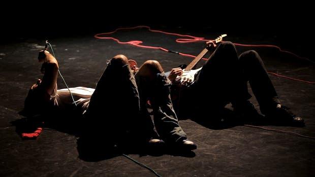 Escena de Basura, trabajo coreográfico de Rakhal Herrero que reponen este mes