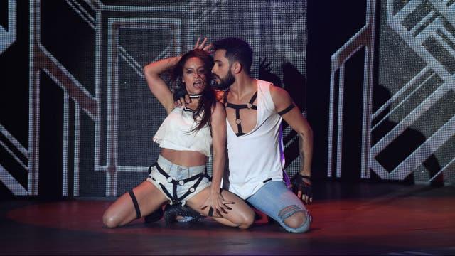 Lourdes Sánchez intentó innovar con su coreografía, pero no sorprendió
