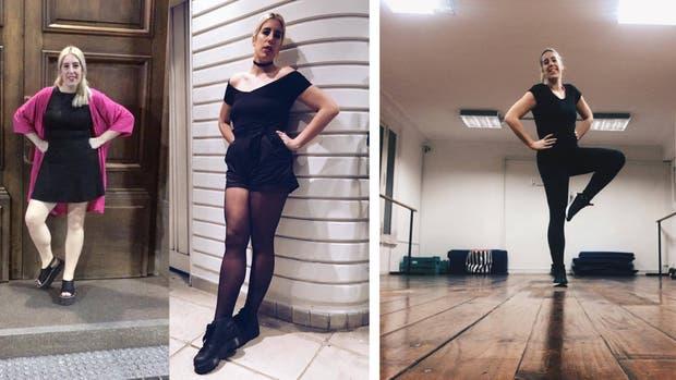 Izquierda: en imágenes, el antes y el después de la transformación de Tatiana Iglesias
