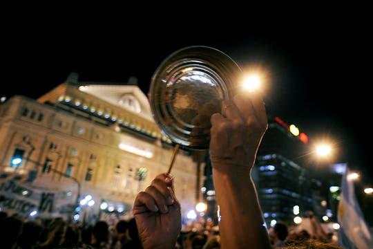 La ocurrencia y originalidad de los que participaron en la protesta del #8N. Foto: AFP