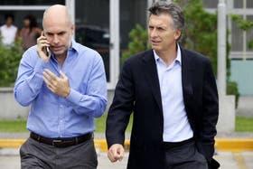 Mauricio Macri y su jefe de gabinete, Horacio Rodríguez Larreta, esperan tener mejor relación con el Gobierno desde la asignación de Capitanich