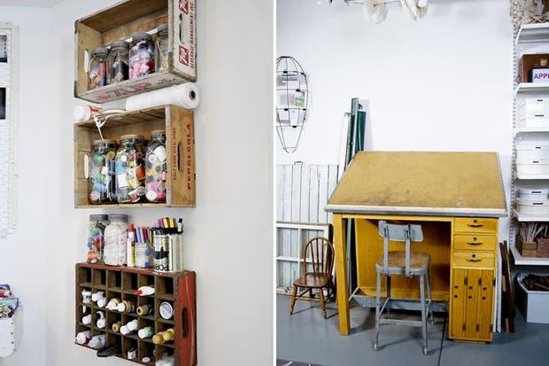 ¡El garage también puede tener diseño!. Foto: Design Sponge