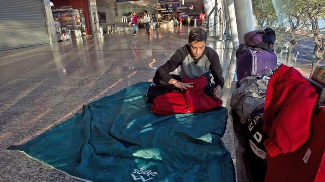 Por una protesta gremial de trabajadores de Aerolíneas Argentinas, hay paro general en todo el país