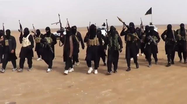 Militantes de Estado Islámico