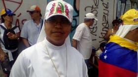 Angelis Cupu, la religiosa que participó de la marcha
