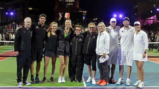 Maria Sharapova volvió a una cancha de tenis después de ocho meses