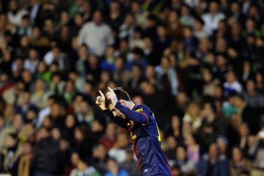 El astro argentino superó la marca de Gerd Müller. Foto: AFP