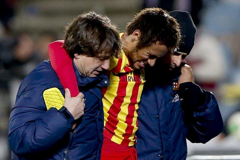 Neymar, su paso por el Barcelona y la amistad con Messi. Foto: Archivo