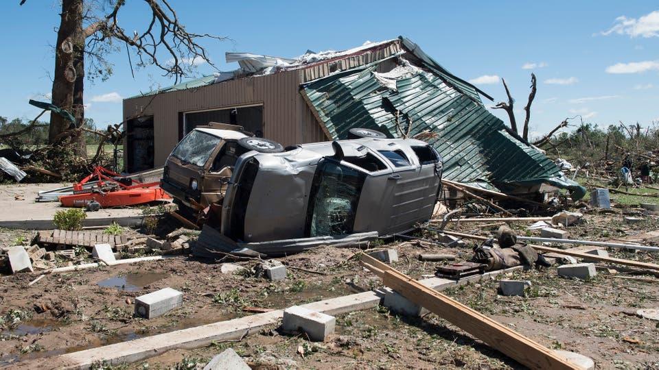 Distintos estados se vieron afectados por graves condiciones meteorológicas. Foto: AP / Sarah A. Miller/Tyler Morning Telegraph