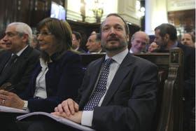Martín Sabbatella, titular de la Afsca, participó el jueves pasado de la audiencia pública en la Corte por la ley de medios