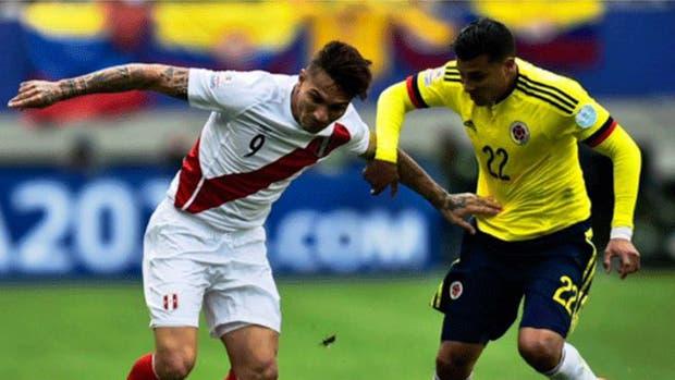 Peru Vs. Colombia