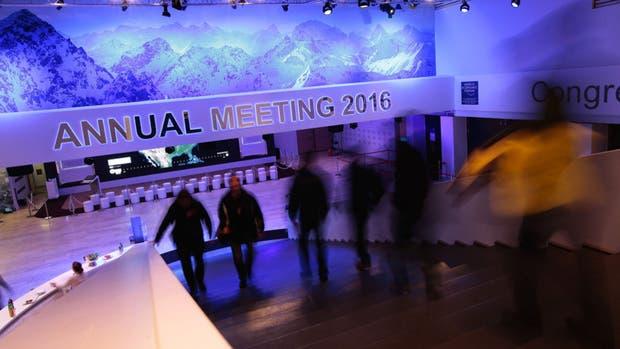 Preparativos del Foro de Davos que arranca mañana oficialmente