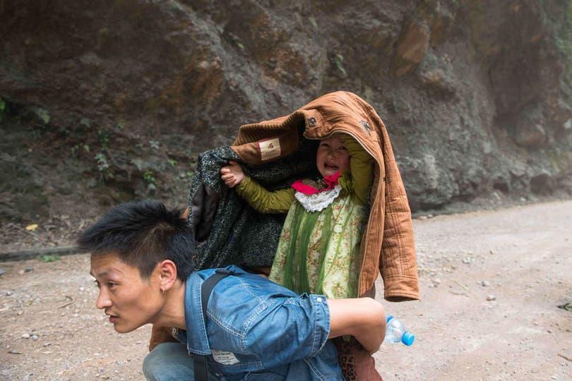 Se trata de una región con fuerte actividad sísmica que fue devastada en 2008 por un potente sismo. Foto: AFP