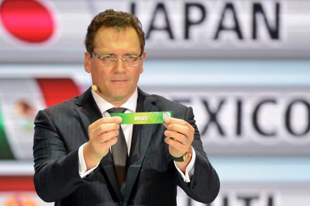 El secretario general de la FIFA, Jerome Valcke