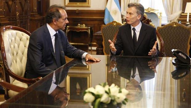 El Gobierno se diferenció desde el día uno cuando Mauricio Macri convocó a la Casa Rosada a la oposición