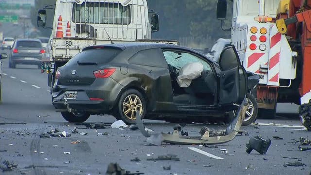 Por los accidentes, hay demoras en distintos tramos