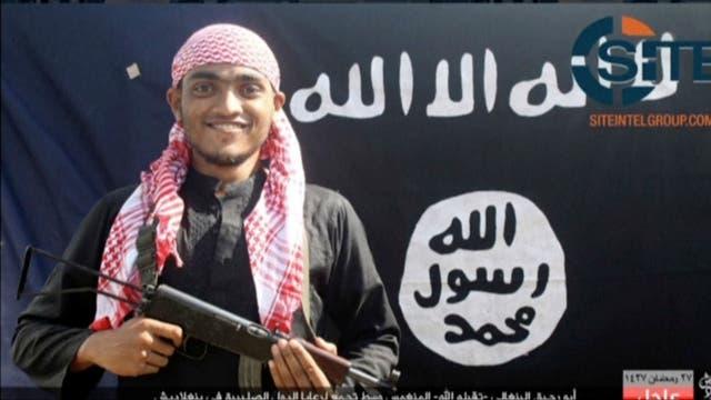 Uno de los atacantes de Bangladesh