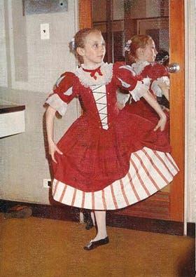 A los 9 años, antes de salir por primera vez al escenario del Colón