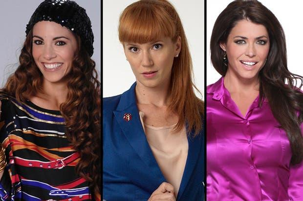 Tres mujeres fuertes, tres mujeres con personalidad.
