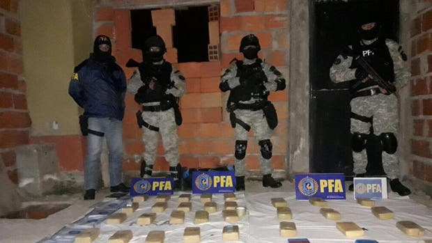 Se secuestraron casi 50 kilos de cocaína