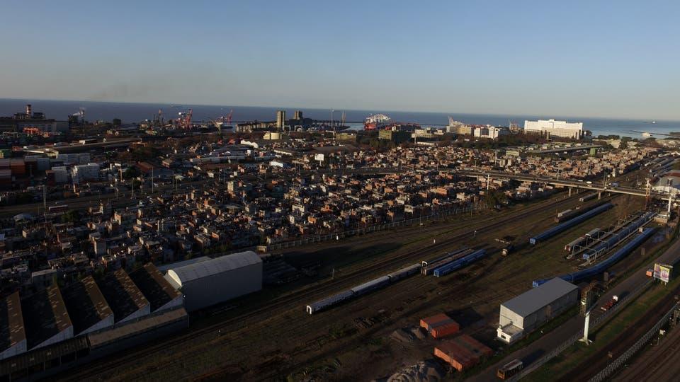 La 31 es una de las villas que será urbanizada. Foto: Archivo / Emiliano Lasalvia / LA NACION