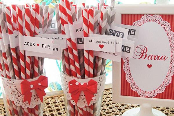 Sorbetes para una barra personalizada. Foto: Gentileza Wedding Factory