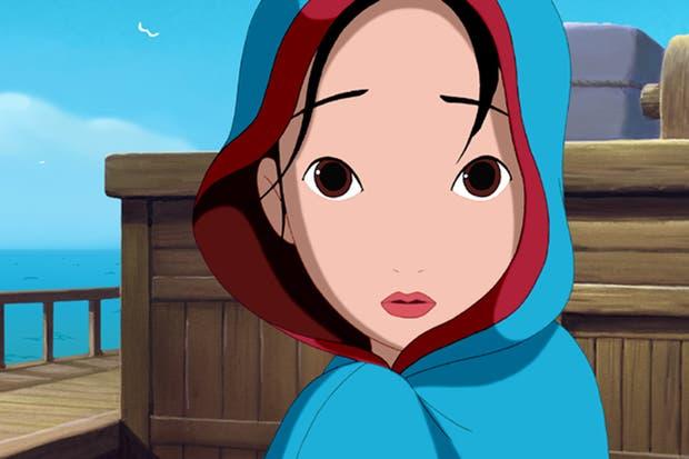 Una captura del film Empress Chung, coproducida entre animadores de las dos Corea en 2004