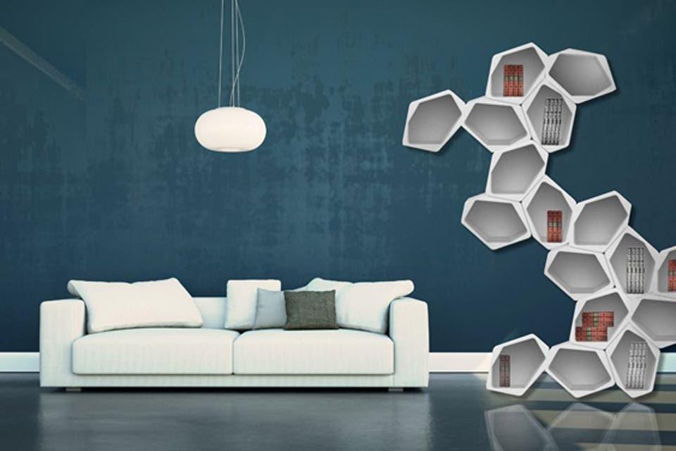 ¿Pondrías esta biblioteca modular en tu casa?