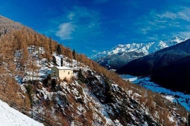 Los habitantes de esta zona de los Alpes en esa época experimentaron un cambio como ningún otro: el asentamiento de la población